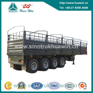 4 Axle 80 Ton Stake Cargo Semi Trailer pictures & photos