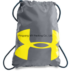 Custom Recycle Advertising Drawstring Shopping Bag pictures & photos