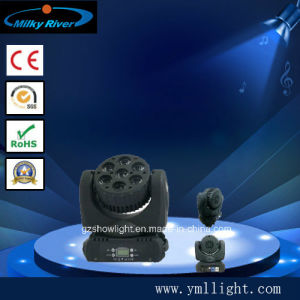 7PCS LED Moving Head, 7*12W 4in1 Osram or CREE LED pictures & photos