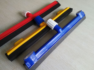 Rubber Squeegee Floor Wiper, Window Wiper, Wiper Plastic Moss Floor Squeegee with EVA Blade pictures & photos