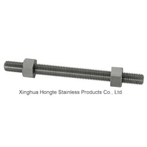 Inconel718 2.4668 Uns N07718 Hex Cap Screws with Hex Nut pictures & photos