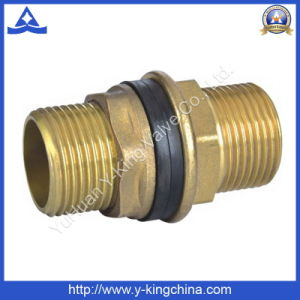 Brass Color Ribber Bushes Brass Tank Connector (YD-6020) pictures & photos