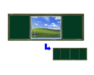 Sliding Portfolio-Mounted Electronic Board pictures & photos