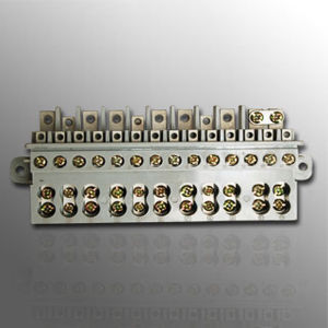 DIN Terminal Block for Three Phase Electricity Meter (MLIE-TB001) pictures & photos