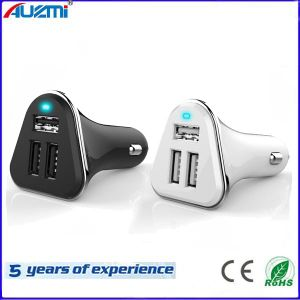New Design 5.2A 3USB Car Charger for iPhone