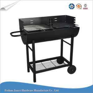New design Removable Picnic Barrel BBQ Grill with Wheel