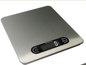10kg Big Platform S/S Backlit Digital Kitchen Scale pictures & photos