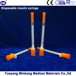 Disposable Insulin Syringe 1cc (ENK-YDS-014) pictures & photos