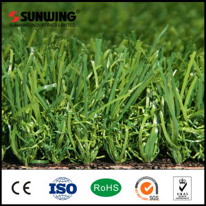 40mm PPE Green Artificial Grass Lawn for Aquarium Decoration