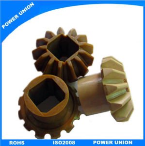 Peek Plastic Bevel Angle Pinion Gear pictures & photos