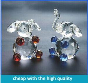 China Cute Crystal Animal Elephant Figurines China Crystal