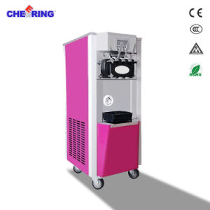 Pre Cooling Air Pump Soft Ice Cream Snack Machine Maker Whit Ce pictures & photos