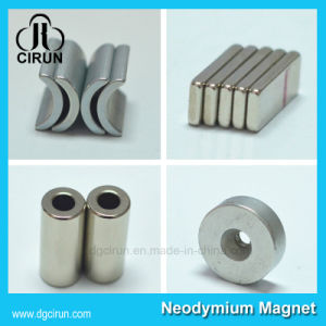 Custom Arc Disc Block Ring Rare Earth Strong Neodymium Magnets