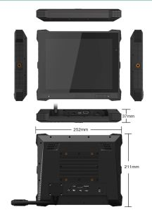 Rugged Android Tablet PC with Poe, RS232, RS485, Wall Mounted pictures & photos