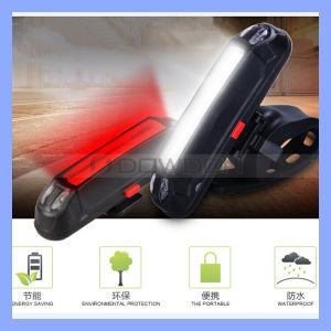 USB Rechargeable 150 Lumen 6 Mode Rear Bike Tail Light pictures & photos