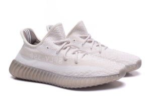 59af988f9d69a China Sply-350 of Yeezy 350 Boost V2 Creamy White Color Sports Shoes ...