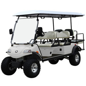 Golf Buggy /Golf Equipment 4+2seat Hunting Cart Del2042D2z pictures & photos
