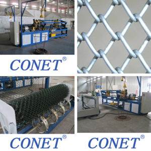 PVC Coated Wire Chain Link Fence Making Machine with Factory Price pictures & photos