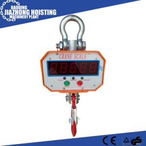 Hoist Wireless Remote Control Digital Crane Scale 5 Ton