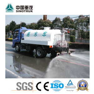 China Best Water Spray Truck of Sinotruk 3-5t pictures & photos