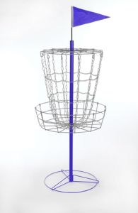 Disc Golf Basket with Cross Chain pictures & photos