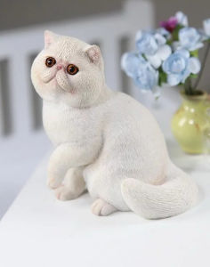 China Exotic Shorthair 1 6 Scale Animals For Home Decor China Home