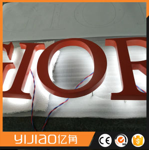 Backing Lighted DIY LED Backlit Channel Letter Sign pictures & photos