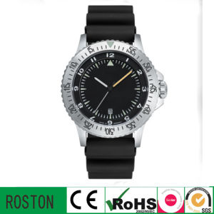 Plastic Band Sport Watch with Quartz Movment