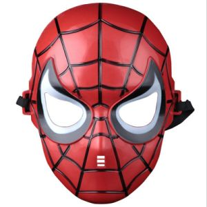 The Avengers Mask Batman Mask Superhero Masks Lighted Kids Spiderman Iron Man Hulk Cartoon Party Mask for Children′s Day Cosplay