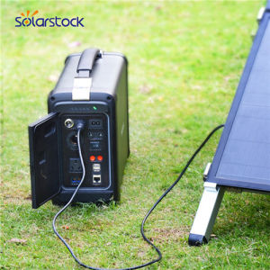 China Pv Solar Mini Generator 500w With Polymer Li Ion Battery