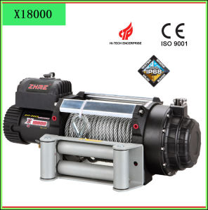 China 8t Remote Control Electric Winch for Car - China off