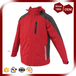 Men Waterproof Breathable High Quality Three-in-One Winter Jacket pictures & photos