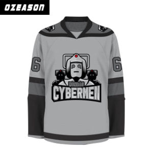 Newest Hockey Jersey Designs Sublimated Blank Ice Hockey Sweatshirt (H020) pictures & photos