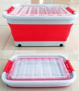 China 1020304565L Folding Collapsible Laundry Basket Storage