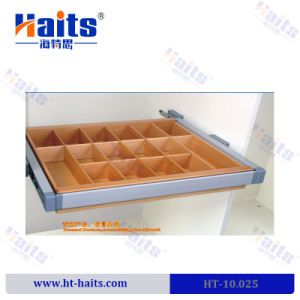 High End Hot Sale Soft Close Foldable Wooden Storage Box Wardrobe  Accessories