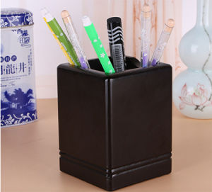 Creative Business Office Wooden Pen Holder pictures & photos