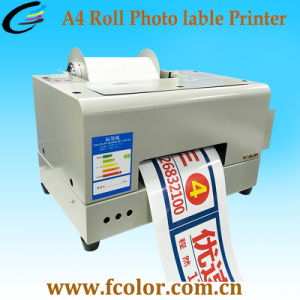 Inkjet Roll Label Printing Machine for Color Sticker