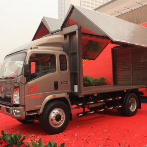 Sinotruck HOWO 4X2 Light Trucks and Vans pictures & photos