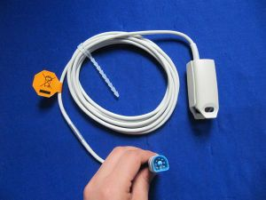 Medical Compatible New Monitor Parts for Adult Philips 1191b Finger Clip Type SpO2 Sensor pictures & photos
