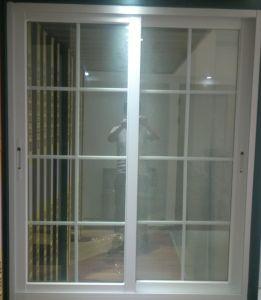 China Double Glazed Window Grills Design For Sliding Windows China