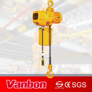 2ton Fixed Type Electric Chain Hoist (WBH-02001SF) pictures & photos