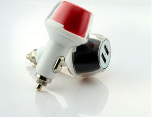 New Arrival USB Car Charge for Smartphone/Tablet