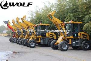 Wolf Euro 4 Wheel Loader with EPA 4 Emsission Standard pictures & photos
