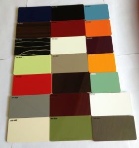 High Glossy Polymer Acrylic Board Used To Kitchen Cabinet Door