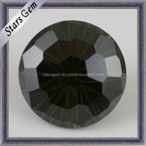 High Quality Gemstone Faceted Black Cubic Zirconia pictures & photos