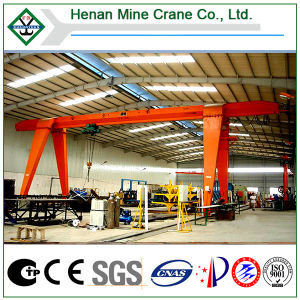 Single Beam Construction Machinery Gantry Cranes (MH) pictures & photos