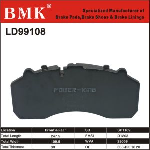 Durable Truck Brake Pads (LD99108) pictures & photos