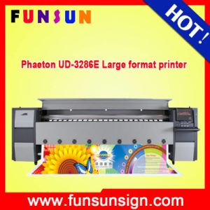 Low Price 3.2m Digital Industrial Inkjet Flex Banner Printer Machine Pheaton Ud 3286e pictures & photos