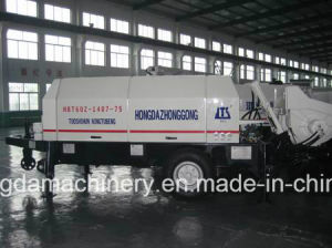 Trailer Concrete Pump with Output 60m3/H pictures & photos