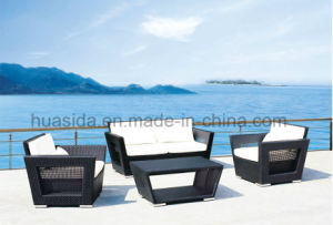 Rattan Sofa with Coffee Table for Leisure Outdoor pictures & photos